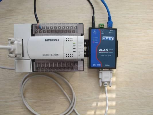 三菱FX系列PLC远程控制